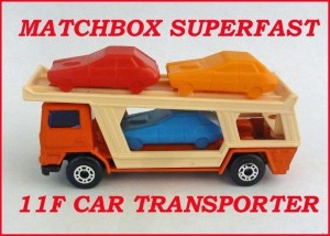 Matchbox Superfast MB11 Car Transporter 11f