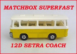 Matchbox Superfast MB12 Setra coach 12d