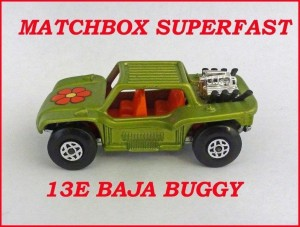 Matchbox Superfast MB13 VW Baja Buggy 13e