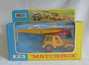 Matchbox King Size K-14 Jumbo Crane Window Box