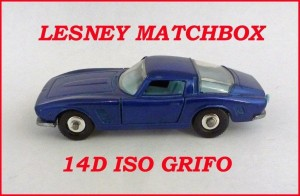 Matchbox Toys MB14 ISO Griffo 14d