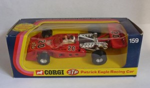 Corgi Toys 159 Patrick Eagle F1 Car