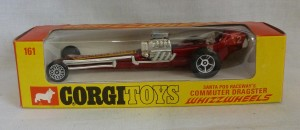 Corgi Toys 161 Commuter Dragster with Red Base [B]