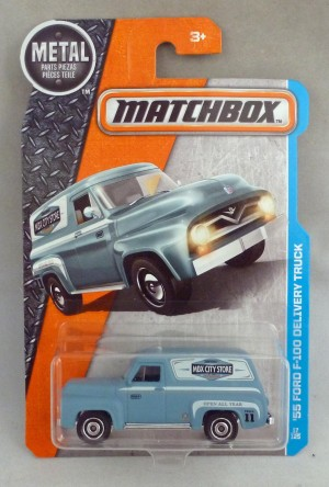 Matchbox MB17 '55 Ford F-100 Delivery Truck Long Card