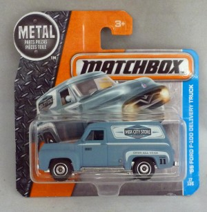 Matchbox MB17 '55 Ford F-100 Delivery Truck Short Card