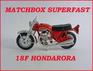Matchbox Superfast MB18 Hondarora 18f