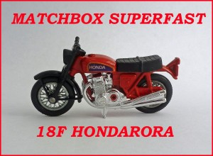 Matchbox Superfast MB18f Hondarora