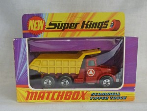 Matchbox SuperKings K-19 Scammel Tipper Truck