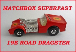 Matchbox Superfast MB19 Road Dragster 19e