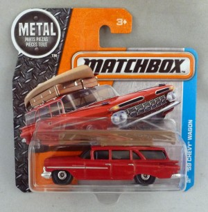 Matchbox MB1 '59 Chevy Wagon Short Card