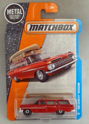Matchbox MB1 '59 Chevy Wagon Long Card