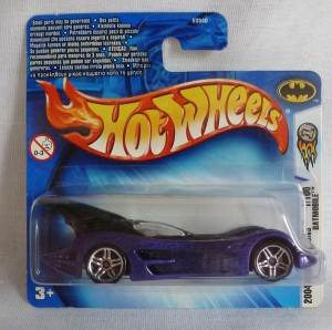 HotWheels Batman's  Batmobile 2004 First Editions Purple