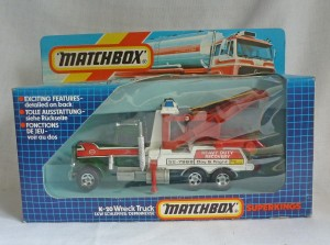 Matchbox SuperKings K-20 Peterbilt Wreck Truck
