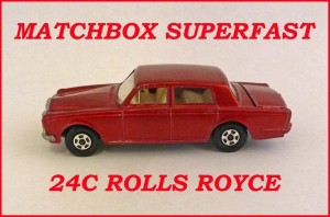 Matchbox Superfast MB24 Rolls Royce Silver Shadow 24c