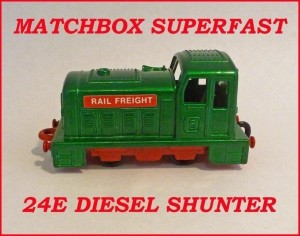 Matchbox Superfast MB24 Diesel Shunter 24e
