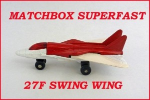 Matchbox Superfast MB27 Swing Wing 27f