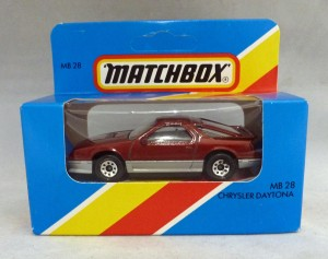 Lesney Matchbox Blue Box MB28h Chrysler Daytona