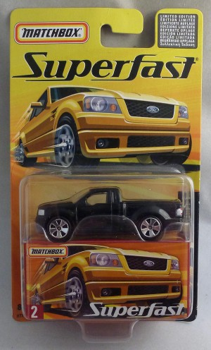Matchbox Superfast MB2 SVT Lightning Concept Black