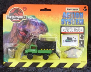 "Matchbox ""The Lost World"" Jurassic Park Unimog Rescue Truck 2/6"