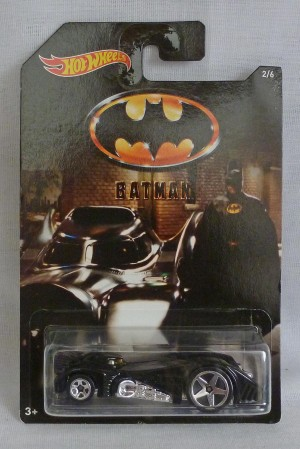 HotWheels Batman Hardnoze Batmobile 2/6
