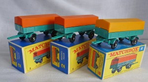 Matchbox Picture Box Collection Preview MB2d RW Mercedes Trailers