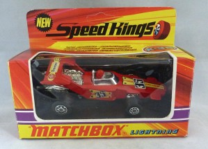 Matchbox Speed kings K-35 Lightning Red