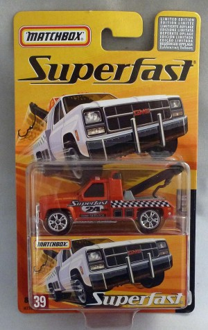 Matchbox Superfast MB39 GMC Wrecker Bronze