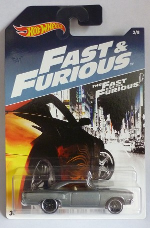 HotWheels Fast & Furious '70 Plymouth Road Runner 3/8