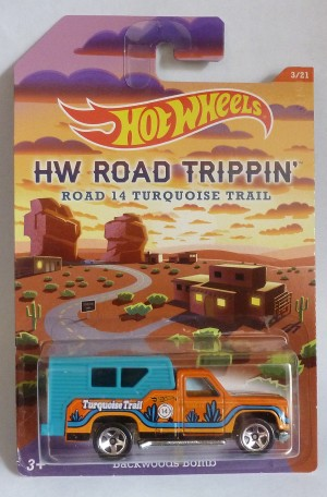 HotWheels HW Road Trippin' Backwoods Bomb 3/21