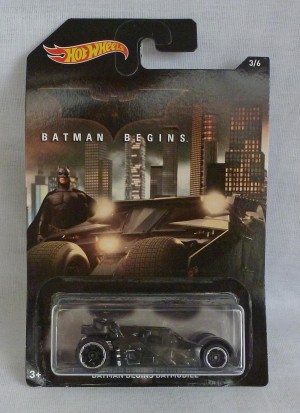 HotWheels Batman Begins Batmobile 3/6