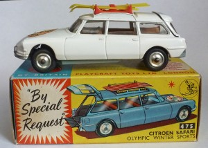 Corgi Toys 475 Citroen Safari Winter Olympics