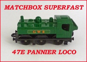 Matchbox Superfast MB47 Pannier Locomotive 47e