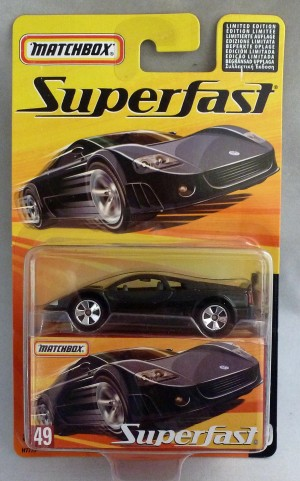 Matchbox Superfast MB49 Volkswagen W12 Black