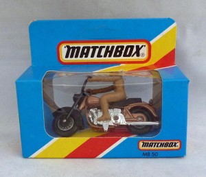 Lesney Matchbox Blue Box MB50e Harley Davidson
