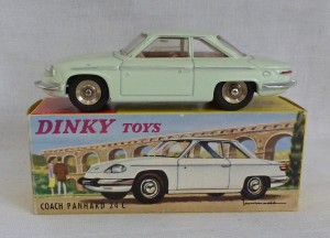 French Dinky Toys 524 Coach Panhard 24 C