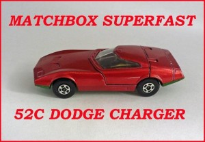 Matchbox Superfast MB52 Dodge Charger 52c
