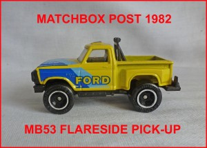 Matchbox MB53 Flareside Pick-Up