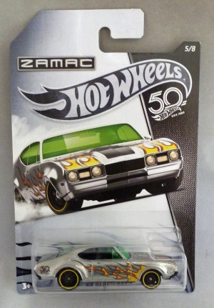 HotWheels 50 Years Zamac '68 Oldsmobile 442 5/8
