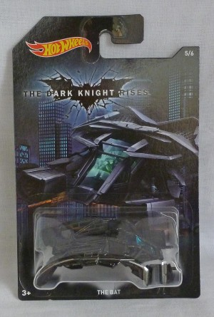 "HotWheels Batman The Dark Knight Rises ""The Bat"" 5/6"
