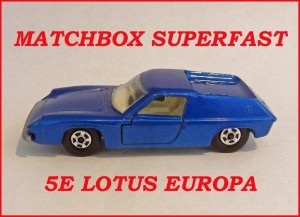 Matchbox Superfast MB5 Lotus Europa 5e