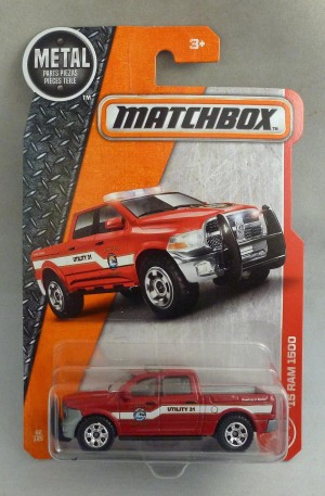 Matchbox MB62 '15 Dodge Ram