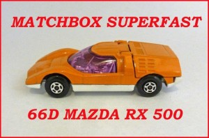 Matchbox Superfast MB66 Mazda Streakers 66d