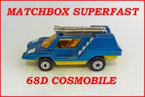 Matchbox Superfast MB68 Cosmobile 68d