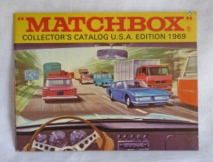 Matchbox 1969 USA Edition Pocket Catalogue