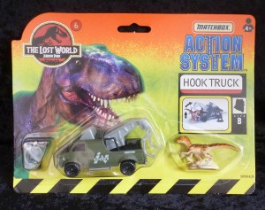 "Matchbox ""The Lost World"" Jurassic Park Hook Truck Wrecker 6/6"