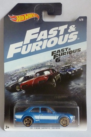 HotWheels Fast & Furious '70 Ford Escort RS1600 MK I 6/8