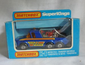 Matchbox SuperKings K-6 Team Honda Transporter