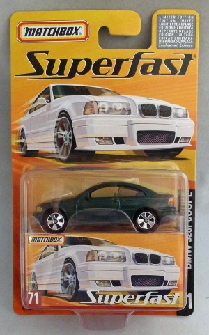 Matchbox Superfast MB71 BMW 328i Coupe Green