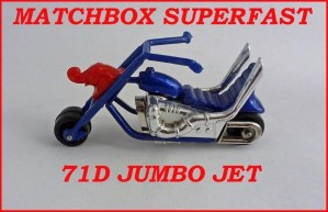 Matchbox SuperfastMB71  Jumbo Jet 71d