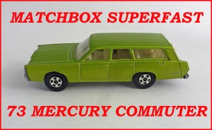 Matchbox Superfast MB73c Mercury Station Wagon